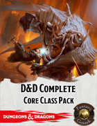 Fantasy Grounds: D&D Complete Core Class Pack