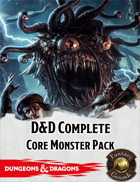 Fantasy Grounds: D&D Complete Core Monster Pack