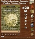 Online Gaming Tokens Pack #4: d20 Modern