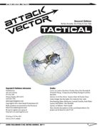 Attack Vector: Tactical, 2nd Ed. Rulebook