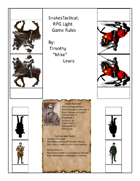 Snakes Tactical; RPG Light Rule Book