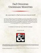 D&D Denizens: Underdark Monsters