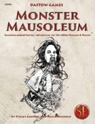 Monster Mausoleum