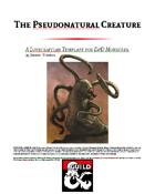 Pseudonatural Creature Template