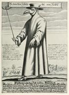 The Plague Doctor, a dark fantasy background