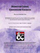 Monster Codex: Underdark Enemies