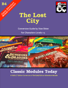 Classic Modules Today: B4 The Lost Temple