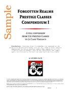 Forgotten Realms Prestige Classes Compendium 1 - (SAMPLE)