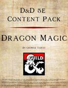 5e Content Pack - Dragon Magic