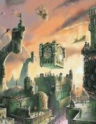 Forgotten Realms Intricate City Map and Key - Halarahh