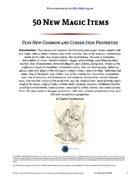 50 New Magic Items - World Builder Blog Presents