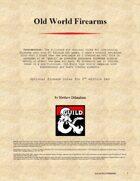 Old World Firearms