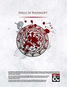 Spells of Ravenloft