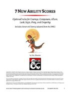 7 New Ability Scores