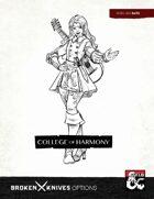 Bard Subclass: College of Harmony