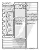 Paladin Character Sheet (Fillable Form)