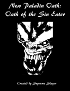 Paladin Oath of the Sin Eater