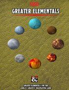 Greater Elementals