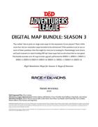 Digital Maps: Season 3 (Rage of Demons)