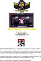The Lost Tomb of Khaem Map Set