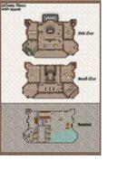 HD Color Digital Map Pack: DDAL4-4