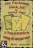 Old Parchment Stock Art