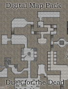 Color Digital Map Pack: DDEX01-04 Dues for the Dead