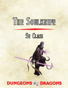 The Soulknife, 5e Class