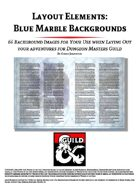 Layout Elements: Blue Marble Backgrounds