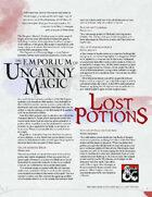 The Emporium of Uncanny Magic — Lost Potions