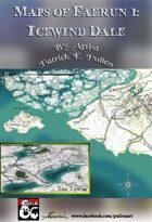 Faerun Map 1: Icewind Dale
