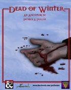 Adventure: Dead of Winter