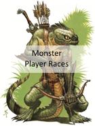 Monster Player Races (5e)