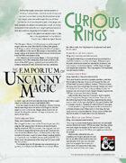 The Emporium of Uncanny Magic — Curious Rings