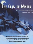 The Claw of Winter - Adventure