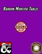 Random Monster Tables