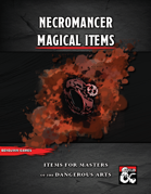 Necromancer Magical Items