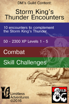 Ten Storm King's Thunder Encounters