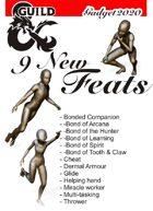 9 New Feats