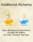 Additional Alchemy