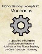 Planar Bestiary Excerpts #2: Mechanus
