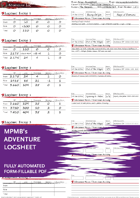 Adventure Logsheet - MPMB's fully-automated Colorful version