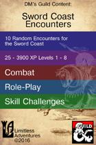 Ten Sword Coast Encounters