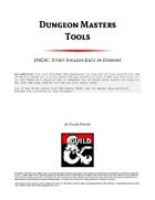 Dungeon Master Tools: DnDAL Story Awards Rage of Demons