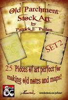Old Parchment Stock Art Set 2