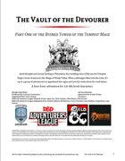 CCC-CIC-01 The Vault of the Devourer