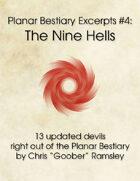 Planar Bestiary Excerpts #4: The Nine Hells