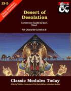 Classic Modules Today: I3-5 Desert of Desolation (5e)