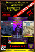 3 in 1 Dungeon Master Assistant Pack