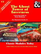 Classic Modules Today: C2 The Ghost Tower of Inverness (5e)